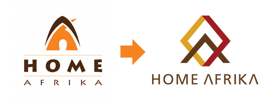 home afrika logo transition