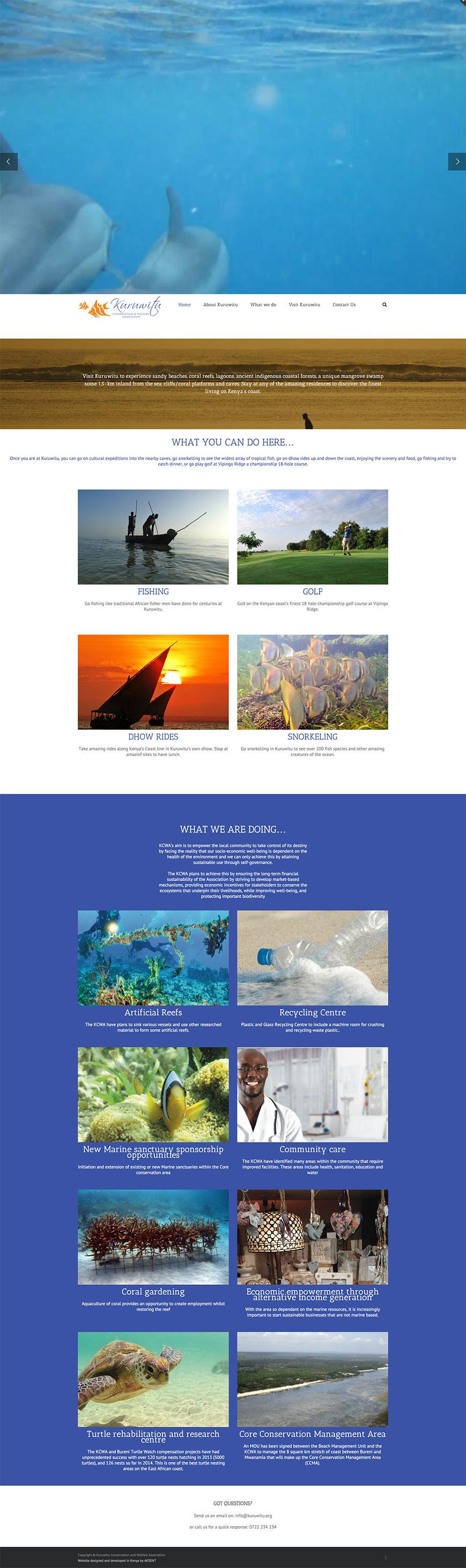 Kuruwitu-Conservation---Welfare-Association