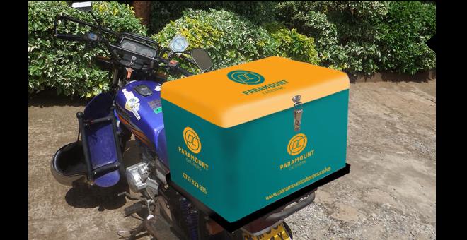 paramount caterers motorbike