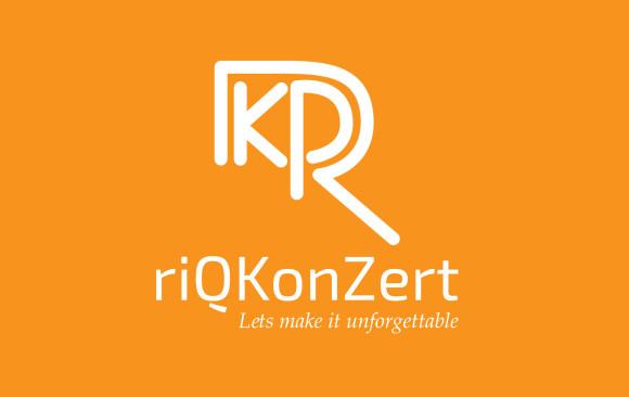Riq Konzert Logo design